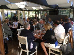 Group Shot Dinner Meeting