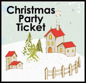 Christmas Card Ticket