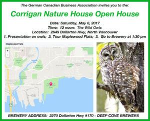 Corrigan Nature House Open House