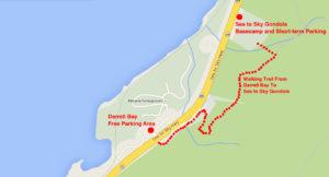 Squamish Gondola Map