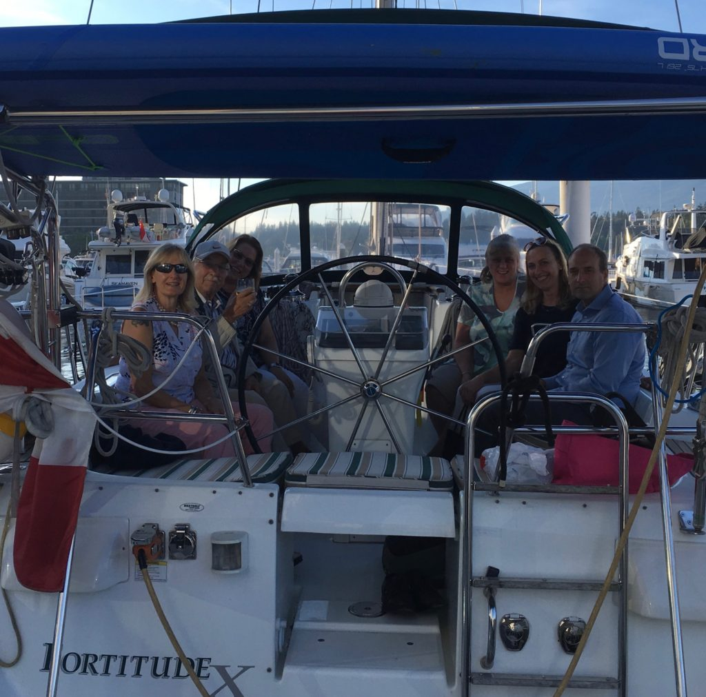 Boat board meeting
