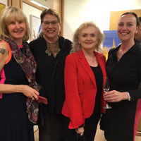 Vernissage in German Consulate